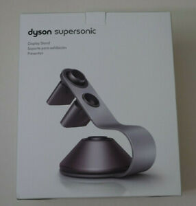 Genuine Dyson Supersonic Hair Dryer Display Stand Holder, Silver/Gray 01559
