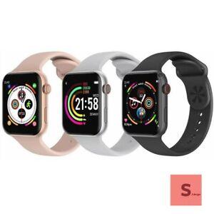 smartwatch cardiofrequenzimetro da polso android ios telefono tracker t500 plus