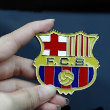 3D FCB Football Club Logo Car & Bike Auto Styling Symbol Metal Sticker