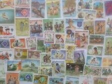 More details for 200 different scouts/scouting on stamps collection