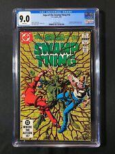 Saga of the Swamp Thing #10 CGC 9.0 (1983) - Phantom Stranger backup story