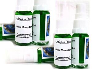 Liquid Money 10 ml in Sprayflacon-Geldanziehung-Magische Duftessenz-Zauberwasser