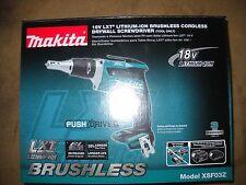 Makita XSF03Z 18V Lithium-Ion Brushless Cordless Drywall Screwdriver NEW Tool