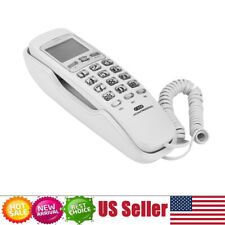 Corded Phone Caller ID Home Office Desk Wall Mount Landline Telephone