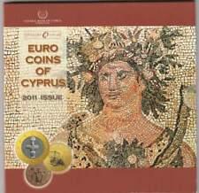 Cyprus BU set 2011 / 1 cent - 2 euro KMS : Mosaica of Paphos