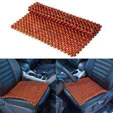 Car Taxi Home Chair Beaded Seat Cover Pad Cushion Massages African Rosewood Bead