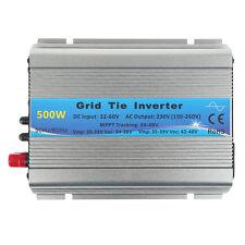 500W Grid Tie Power Inverter 22-60V solar Netz-Wechselrichter MPPT AC230V