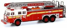 Code 3 FDNY Seagrave Rear Mount Ladder 42 12722 1/64 Scale Die cast
