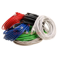 Cat6 Patch Cord Ethernet Cable CAT 6 Internet RED GREEN WHITE GRY BLUE BLACK lot