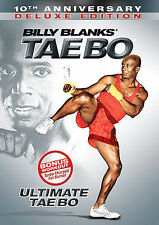 Billy Blanks: Ultimate Tae Bo 10th Anniversary Deluxe Edition DVD.