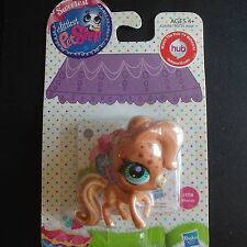 Littlest Pet Shop NEW #3118  Tan spotted blue eyed Horse/pony  Hub pet