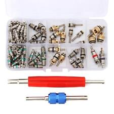 102Pcs R12 R134A A/C Valve Core Valves Auto Air Conditioning Remover Tool Kit