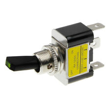 Kippschalter Schalter ein aus 12V LED grün Wippschalter rastend