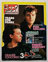 CIAO 2001 19-1985 TEARS FOR FEARS - QUEEN - FREDDIE MERCURY - RON - SAXON