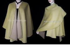 CAMEL Cape Ruana Wrap Coat Camel hair Wool & Cashmere Blend by Maya Matazaro