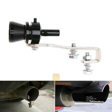 Universal Car Turbo Sound Blowoff Simulator Exhaust Muffler Pipe Whistle Black M