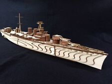 Laser Geschnittene Holz ww2 HMS Hood DarkOrbit 3d Modell/Puzzle Kit