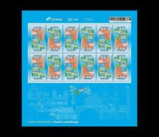 Luxembourg au Brésil - d'immigrés luxembourgeois Brasil 2018 Miniature Sheet