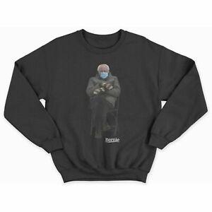 Bernie Meme Sweatshirt Chairman Sanders Crewneck mittens sweater Inauguration