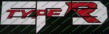 HONDA CIVIC TYPE R EP3 Fuse Auto Finestra Adesivo Decalcomania Jdm tritate Vtec V TEC