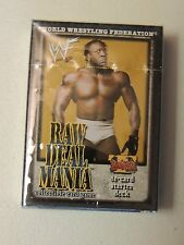 Booker T WWF RAW DEAL CCG MANIA Sealed STARTER DECK WWE Hall of Famer
