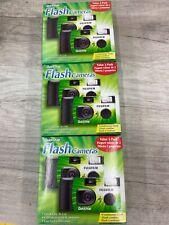 3 Pcs Fuji Quicksnap Flash 400 One Time Use Disposable 35mm Film Camera exp 2022