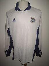 Anderlecht home LS Belgium football shirt soccer jersey voetbal maillot size XL