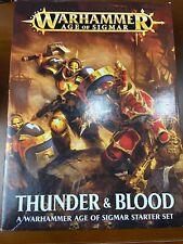 Thunder & Blood Starter Set NEW Warhammer Age of Sigmar
