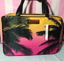Victoria's Secret PINK Palm Tree Makeup Lingerie Travel Case Bag Organizer New