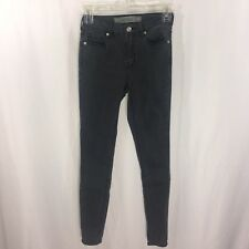 Melville Women's Jeans Skinny Stretch Zip Back Ankle Size 25