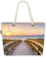 Sylt Düne Beach Bag Deutschland Sonnenuntergang Nordsee strand Landschaft