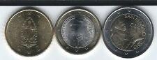 EURO: San Marino (Saint-Marin): Série 3 pièces 2 Euros 1 Euro 50 cents 2019