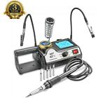 WEP 927-I-ST Soldering Iron Station w/ 2 Helping Hands & 5 Extra Tips - ESD Safe