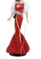 Aries Red sparkle evening gown fits silkstone royalty model muse Barbie
