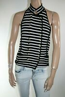 GIORGIO ARMANI WOMEN'S TOP SIZE 42 MAGLIETTA DONNA MADE IN ITALY A2671
