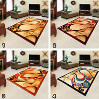 Large Small Modern Cream Traditional Rug Abstract Carpet Mat Floor New Pattern