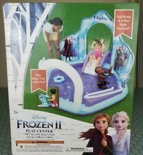 Disney Frozen II Summer Play Center Kids Inflatable Swimming Pool Slide Sprayer