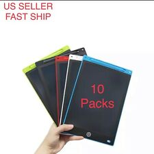 LOT 10 LCD Writing Tablet e-Writer Drawing Memo Message Boogie Board 12 Inch