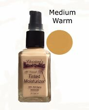 Tinted Moisturizer All Natural Herbal Liquid Foundation - 1oz. Medium Warm