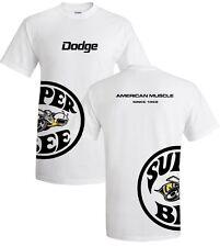 Dodge Super Bee T-shirts - Underwrap Styke - Mopar Muscle car - 100% Cotton