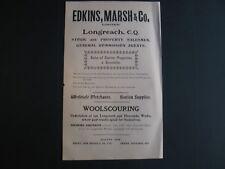 Edkins,Marsh & Co . Longreach, Queensland. John Bridge & Co 124