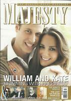 Majesty Magazine Kate Middleton Prince William Queen Elizabeth King George V