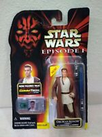 Hasbro Star Wars Episode I Phantom Menace Obi-Wan Kenobi Naboo Action Figure