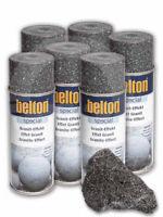 6 x Belton Granit-Effekt-Spray (alle Farben) 0,4l - FARBWAHL - Steineffekt Spray