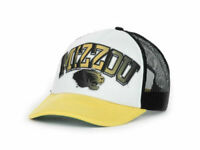"Missouri Tigers ""Mizzou"" NCAA In the Paint Mesh back Adjustable Foam Trucker Cap"