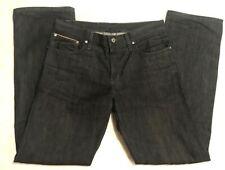 NAKED & FAMOUS JEANS MENS SLIM GUY SIZE 36 BLACK SELVEDGE RED LINE GUC