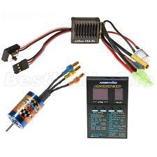 HobbyWing 1/18 RC Car EZRUN 18A ESC 12T 7800KV Motor Brushless Combo A1 1:18
