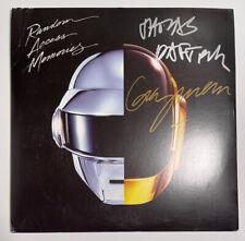 Signed DAFT PUNK - RANDOM ACCESS MEMORIES  VINYL Thomas Guy Grammy 2014