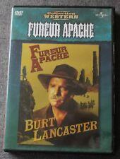 Fureur Apache, Burt Lancaster, DVD