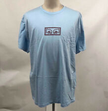 Obey Men's T-Shirt Eyes Powder Blue Size XXL NWT Shepard Fairey Andre the Giant